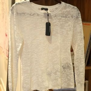 Long Sleeve Lace Rag &Bone Long Sleeve Top